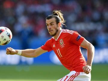Gareth Bale, durante un partido con Gales
