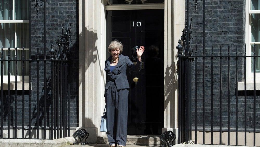 Theresa May en vísperas de ser primera ministra