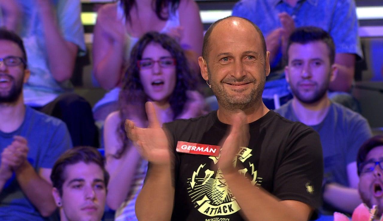 """Germán se lleva 17.225 euros gracias al """"panel del amor"""""""