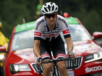 Dumoulin, en una etapa del Tour