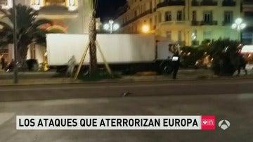 Los ataques que han aterrorizado a Europa en los últimos días