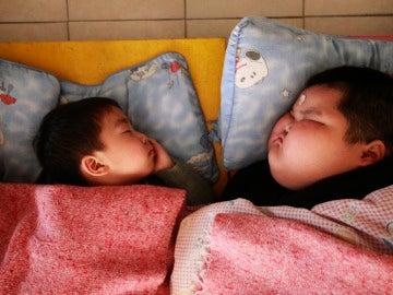 Campamentos para luchar con la obesidad infantil, un problema creciente en China