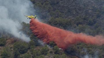 El incendio de Artana ha quemado mil héctareas