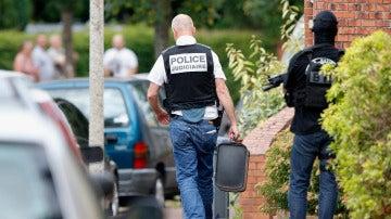 Miembros de las fuerzas especiales de la policía francesa