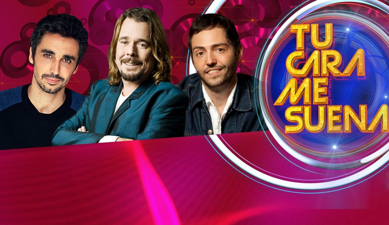Canco Rodríguez, Juan Muñoz y David Guapo en 'Tu cara me suena'