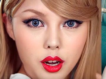La transformación más impactante de una youtuber coreana en Taylor Swift