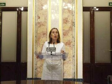 """Ana Pastor: """"Hablaré con Rajoy para ver cuál es el plazo para que pueda haber un Gobierno"""""""