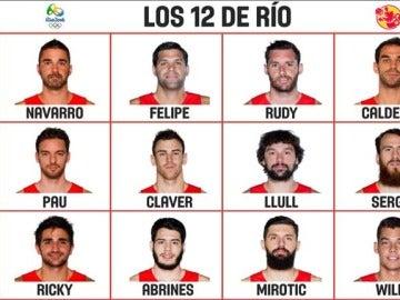 Los 12 nombres que viajarán a Río