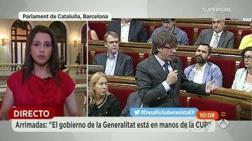 """Inés Arrimadas: """"Si otros partidos hicieran lo que nosotros, hoy en día tendríamos un Gobierno"""""""