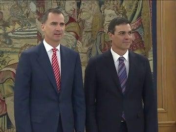 """Sánchez insistirá ante el Rey en que Rajoy """"tiene la responsabilidad"""""""