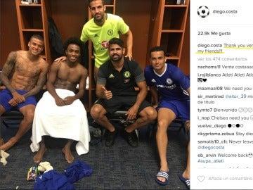 Diego Costa publica un enigmático mensaje en redes sociales