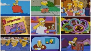 Montaje Ranking los Simpson