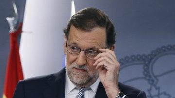 """Mariano Rajoy, sobre la cuestión catalana: """"Daremos la respuesta pertinente en defensa de todos los españoles"""""""