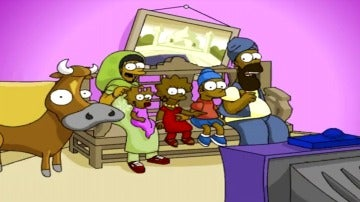 Los Simpson viajan a la India