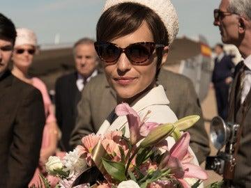 Ana RIvera convertida en una diseñadora de éxito