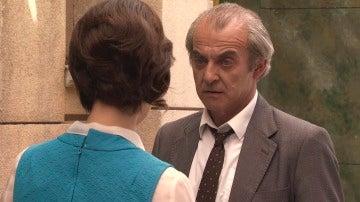 Carlos Salgado se encara a Marta en un estado de embriaguez