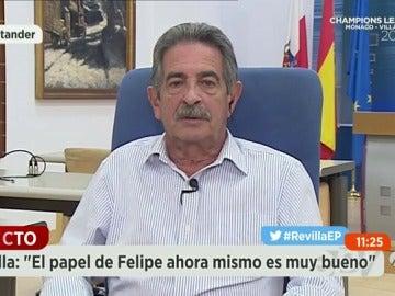 """Revilla dice que si estuviera en la posición del PP se """"olvidaría"""" del PSOE"""