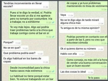 Conversación de Whatsapp