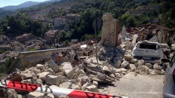 Un terremoto de 6 grados de magnitud deja al menos 120 muertos en el centro de Italia