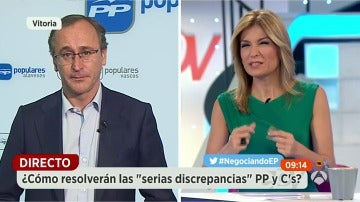 """Alfonso Alonso: """"La responsabilidad del Gobierno no se puede dejar en manos de nacionalistas"""""""