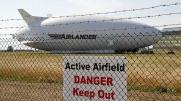 El Airlander se estrella durante un vuelo de prueba