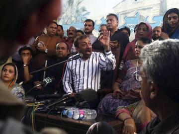 Karachi en rueda de prensa