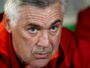 Carlo Ancelotti, entrenador del Bayern de Múnich alemán