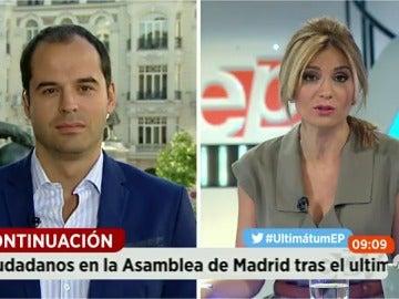 """Ignacio Aguado, sobre el límite de 48 horas: """"No podemos perpetuarnos en unas negociaciones"""""""