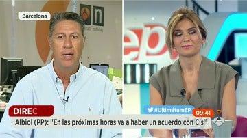 """Albiol: """"Habrá acuerdo entre PP y Ciudadanos en las próximas horas"""""""