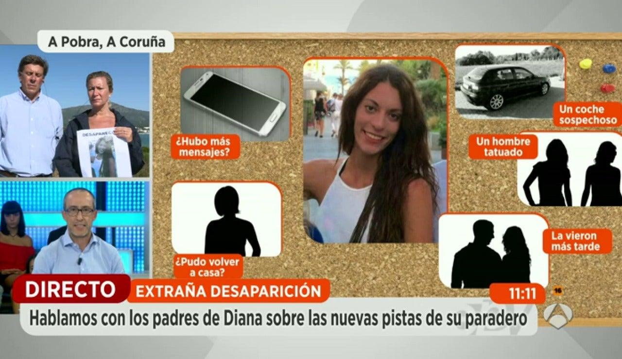 Las pistas que los investigadores siguen para intentar localizar a la joven Diana Quer