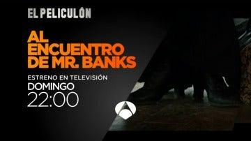 Antena 3 estrena 'Al encuentro de Mr. Banks'