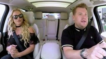 Britney Spears canta 'Baby One More Time' con James Corden en Carpool Karaoke