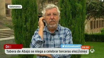 """""""No nos negamos a nuevas elecciones, nos negamos a que sean en Navidad"""""""