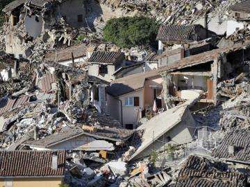 Cerca de 2.500 personas se quedan sin hogar por culpa del terremoto en Italia