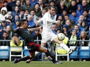 Gareth Bale en la goleada del Madrid ante el Celta (7-1)
