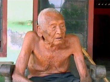 Este indonesio sería el hombre más anciano del mundo