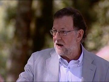 """Rajoy: """"Sería tremendo que la irresponsabilidad de algunos nos hiciera volver a los años de crisis"""""""