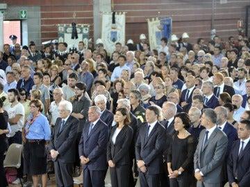 Funeral en Italia por las víctima del terremoto