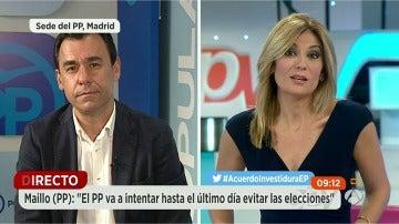 """Martínez Maillo (PP): """"No solo le vamos a pedir responsabilidad a Sánchez sino también que diga cuál es su alternativa si su voto es negativo"""