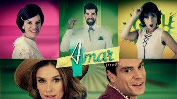 Así es la cabecera de la quinta temporada de 'Amar es para siempre'