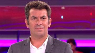 "Un concursante, a Arturo Valls: ""Tus chistes son bastante lamentables"""