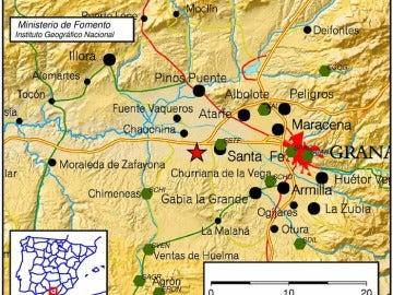 Seísmo en Granada