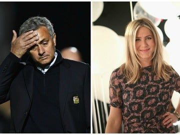 Mourinho y Jennifer Aniston