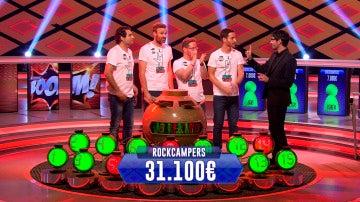 Los 'Rockcampers' se convierten en los campeones de campeones de '¡Boom!'