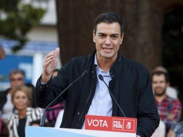 Pedro Sánchez en la Fiesta de la Rosa
