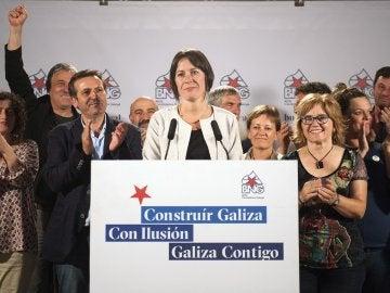 Ana Pontón, tras conocer los resultados