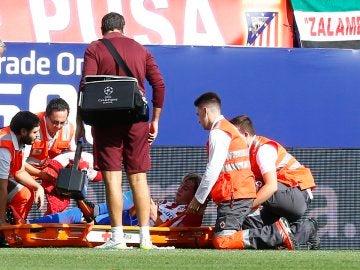 Jose María Giménez, dos semanas de baja por lesión miofascial