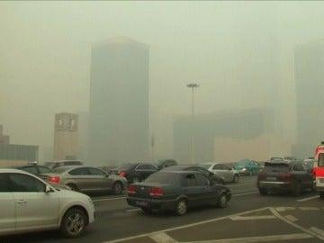 La OMS asegura que casi toda la población mundial respira aire contaminado