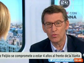 """Feijóo: """"El PSOE no se merece empezar a estar en la esfera de lo irrelevante ni podemizarse como lo está haciendo"""""""