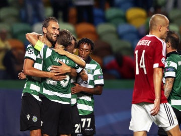 El Sporting de Portugal derrota al Legia en una gran primera parte